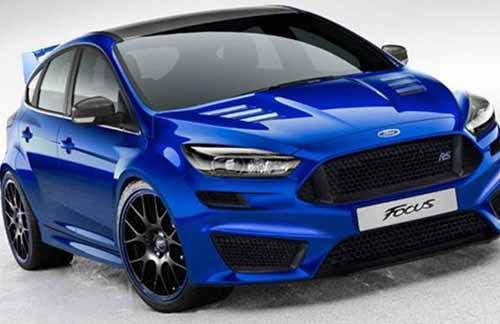 All New Ford Focus RS