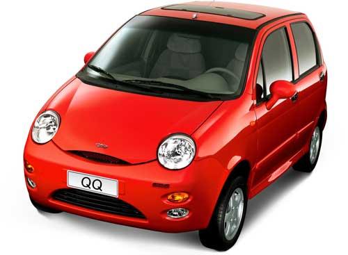 Mobil Chery QQ