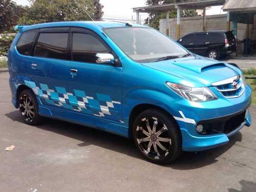 Foto Modifikasi Mobil Avanza