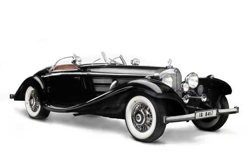 Mercedes Benz 540 K Special Roadstar (1936)