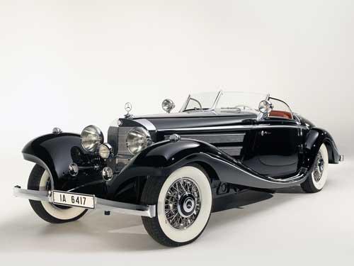 Mercedes Benz 540 K Special Roadstar (1937)