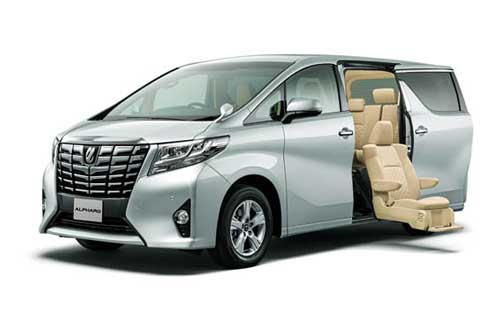 Toyota New Alphard 2.5 Hybrid