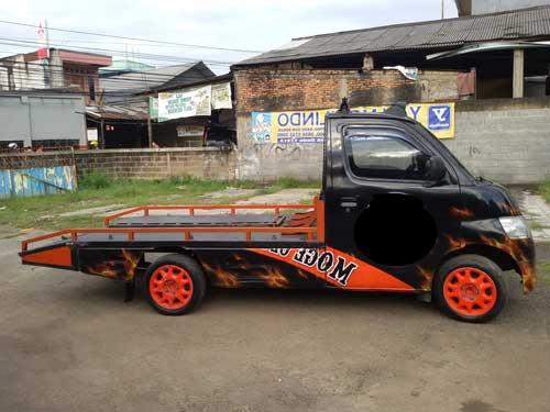 Modifikasi Mobil Pick Up Gran Max