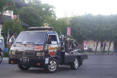 Modifikasi Mobil Carry Pick Up Ceper