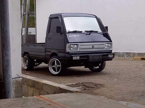 Inspirasi Terpopuler 14 Modifikasi Mobil Pick Up Suzuki Futura