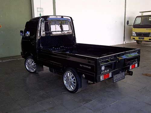 Modifikasi Mobil Pick Up Suzuki Futura