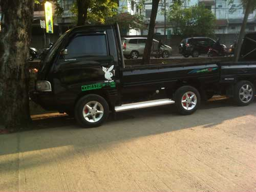 Modifikasi Mobil Pick Up T120SS