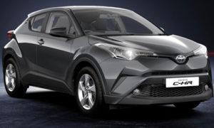 Toyota C HR Decuma Grey