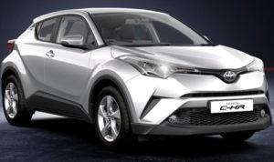 Toyota C HR Tyrol Silver