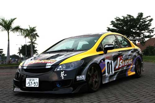Modifikasi Mobil Sedan Honda Civic