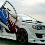 Modifikasi Mobil Sedan Lancer