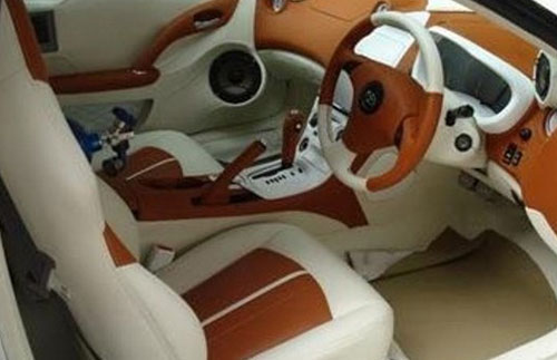 Modifikasi Jok Mobil