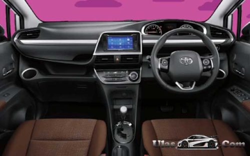 Interior Toyota All New Sienta