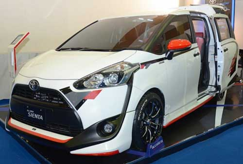 Modifikasi Toyota All New Sienta