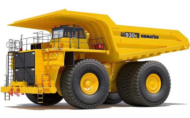 Mobil Truk Komatsu 930-3SE