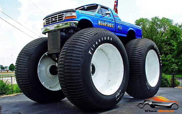 Mobil Truk Modified Bigfoot