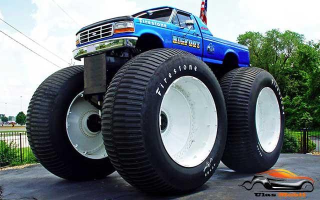 Mobil Truk Modified Bigfoot