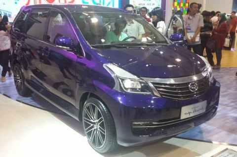 Modifikasi Daihatsu Xenia Ungu
