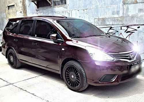 Modifikasi Nissan Grand Livina 6