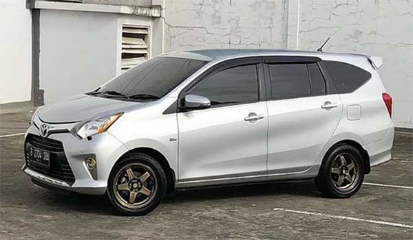 Modifikasi Mobil Toyota Calya dan Daihatsu Sigra