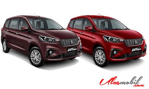 Warna Suzuki Ertiga 2018 Merah