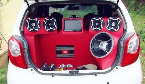 Modifikasi Mobil Agya Audio