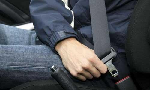 7. Pastikan Seat Belt Sudah Terkunci Dengan Benar