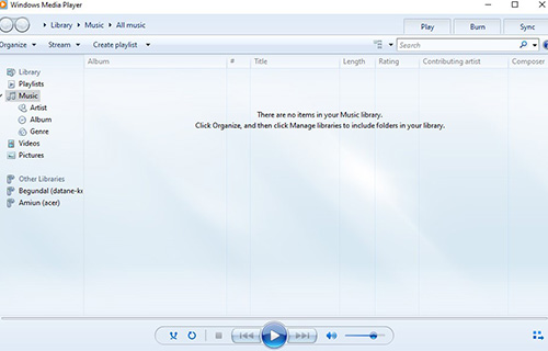 Cara Membuat CD MP3 dengan Windows Media Player