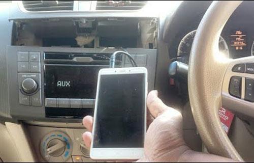 Cara Menggunakan AUX di Mobil
