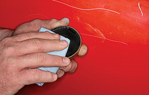 Menghilangkan Goresan Pada Mobil Dengan Kompon
